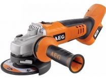 AEG BEWS 18-125X-0 - 18V, 125mm, 2.5kg, aku úhlová bruska, bez aku