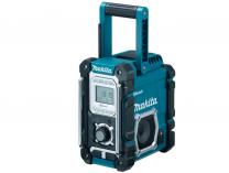 Aku stavební rádio Makita DMR106, 7.2V-18V, 220V, USB, bluetooth, 4.4 kg