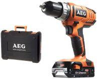 AEG BS 18 G2 Li-152C - 2x 18V/1.5Ah, 50Nm, 2 rychl., 1.8kg, kufr, aku vrtačka bez příklepu