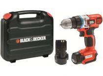Black-Decker EGBL108KB - 2x Li-ion 10,8V/1,3Ah, Aku vrtačka bez příklepu