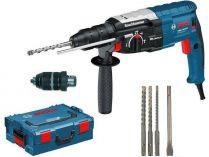 Vrtací a sekací kladivo Bosch GBH 2-28 F Professional - SDS-Plus, 880W, 3.2J, vrtáky + sekáč, kufr
