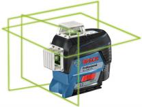 Křížový laser Bosch GLL 3-80 CG Professional - 1x 12V/2.0Ah + držák BM 1, taška