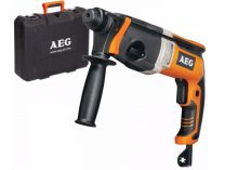 Vrtací pneumatické kladivo SDS-Plus AEG KH 26 E - 800W, 2.5J, 2.6kg, v kufru