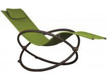 Vivere Orbital Lounger Single - zahradní houpací lehátko Green Appl, 60x30x36cm, nos.:120kg