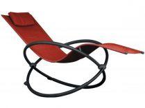 Vivere Orbital Lounger Single - zahradní houpací lehátko Cherry Red, 60x30x36cm, nos.:120kg