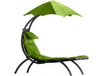 Vivere Original Dream Lounger - zahradní pohovka Green Apple, 178x76cm, nos.:120kg, ocel. stojan