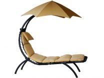 Vivere Original Dream Lounger - zahradní pohovka písková, 178x76cm, nos.:120kg, ocel. stojan
