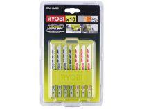 Ryobi RAK10JSB 10-ti dílná sada pilových plátků