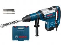Bosch GBH 8-45 DV Professional - 1500W, 12.5J, 8.9kg, kufr, vrtací a sekací kladivo ...