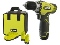 Ryobi RCD 12012 L - 1x 12V/1.3Ah, 1.97kg, Li-Ion, taška, aku vrtačka bez příklepu