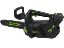 Greenworks GD40TCS - 250mm, 40V, 2.4kg, bez aku, aku řetězová pila