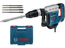 Sekací kladivo SDS-MAX Bosch GSH 5 CE Professional - 1150W, 8.3J, 6.2kg + dárek