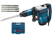 Sekací/Bourací kladivo SDS-MAX Bosch GSH 7 VC Professional, 1.500W, 13J, 8.5kg, kufr + dárek