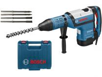 Bosch GBH 12-52 DV Professional - 1700W, 19J, 11.9kg, kufr, vrtací a sekací kladivo + dárek