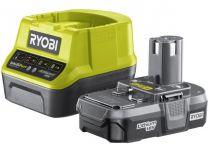 Sada Ryobi RC18120-113: 1x aku 18V/1.3Ah Li-Ion + nabíječka