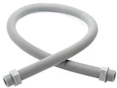 Kabelová hadice 1m - pro vedení kabelů bazénového osvětlení, bílý plast, 0.075kg (309071) Hanscraft