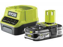 Sada Ryobi RC18120-115: 1x aku 18V/1.5Ah Li-Ion + nabíječka Ryobi RC18120