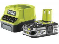 Sada Ryobi RC18120-125: 1x aku 18V/2.5Ah Li-Ion + nabíječka Ryobi RC18120