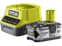 Sada Ryobi RC18120-140: 1x aku 18V/4.0Ah Li-Ion + nabíječka Ryobi RC18120