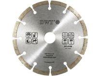 Diamantový kotouč na železobeton a cihly DWT DS-125 SB - pr. 125mm, 0.1kg