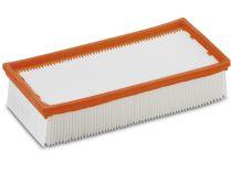 Plochý skládaný filtr balený (papír) Kärcher - třída prachu M pro NT 14/1 a NT 351 z řady Eco/Profi