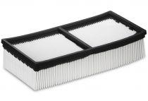 Plochý skládaný filtr (PES) Kärcher, třída M, pro NT 65/2 Tact² a NT 75/2 Tact² Me