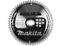 Makita B-09020 MAKBLADE 260x30mm, 60z/2.3mm, pilový kotouč na dřevo do pokosové, stol. a ...