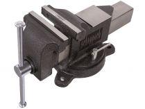 Scheppach V 125 P svěrák průmyslový s otočnou deskou a kovadlinou - 125mm, 11.4kg