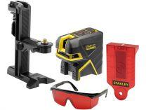 STANLEY FMHT1-77415, FatMax, 5bodový laser s projekcí kříže, červený, 3.48kg
