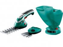 Bosch Isio aku nůžky na keře a trávu - 3.6V/1.5Ah, 0.6kg, rozprašovač