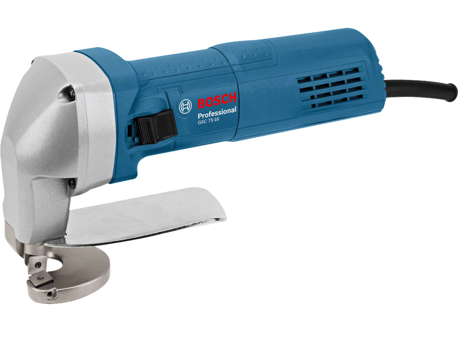 Elektrické nůžky na plech Bosch GSC 75-16 Professional - 750W, 1.6mm, 1.7kg (0601500500) Bosch PROFI