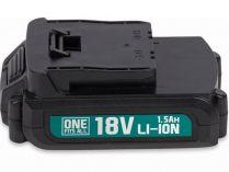 Akumulátor PowerPlus POWEB9010 1.5Ah Li-Ion - 18V/1.5Ah Li-ion, 0.3kg