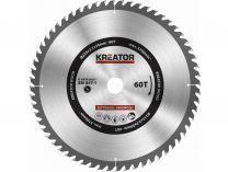 Pilový kotouč na dřevo 235mm 60T - Kreator KRT020437 235x30x2.2mm, 60 zubů