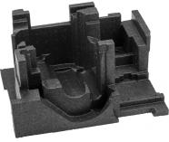 Plastová vložka do kufru Bosch L-BOXX 238 pro Bosch GOF 1250 CE/1250 LCE Professional
