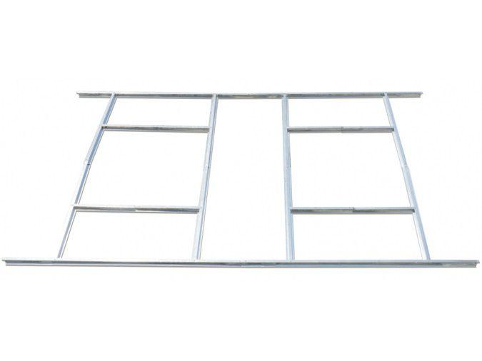 Základna pro rošt z pozinkovaného plechu - Podlážka k plechovému domku G21 GAH 1085