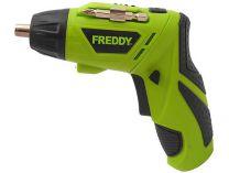 FREDDY FR005 - 3,6V/1,3Ah Li-ion, 3Nm, LED světlo, Aku šroubovák