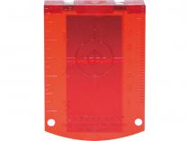 Cílová destička pro Bosch GRL 400 H, GRL 300 HV - červená