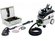 Sada nářadí Festool LHS 225-IP/CTL36-Set PLANEX - bruska na sádrokarton, mobilní vysavač, kufr
