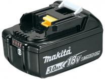 Originální akumulátor Makita BL1830B - 18V/3.0Ah Li-Ion, Indikátor stavu nabití