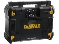 DeWALT DWST1-81078-QW aku stavební rádio bez aku, s nabíječkou, síťové napájení 220V, kufr TSTAK