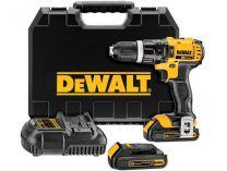 DeWALT DCD785C2 - 2x 18V/1.5Ah XR Li-ion, 60Nm, 2 rychl., 1.6kg, kufr, aku vrtačka s příklepem
