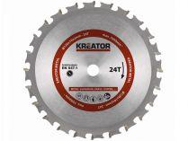 Pilový kotouč na kov KREATOR KRT020603 - 120x10x2.0mm, 24z
