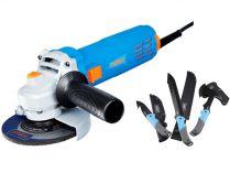 Úhlová bruska Narex EBU 115-6 - 115mm, 680W, 1.7kg + dárek Garden Kit MACHETE