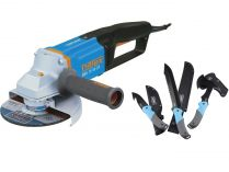 Úhlová bruska Narex EBU 15-16 CA - 150mm, 1600W, 3.2kg + dárek Garden Kit MACHETE