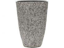 Květináč G21 Natur Plump 36x50x36cm - šedý plast pískovaný, 3.05kg