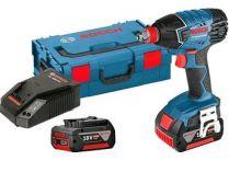 Bosch GDX 180-LI Professional - 2x 18V/3.0Ah, 180Nm, 1.45kg, kufr, aku rázový utahovák