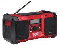 Milwaukee M18 JSRDAB+-0 - 18V, aku stavební rádio bez aku