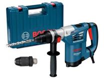 Vrtací a sekací kladivo Bosch GBH 4-32 DFR SET Professional  SDS-Plus + sklíčidlo v kufru