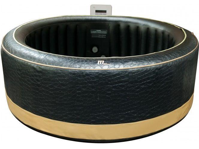Mobilní vířivka HANSCRAFT MSpa Luxury Exotic P-EX06 PREMIUM - pro 6 osob, ohřev 1500W, čerpadlo 60W, 930L,vnější Ø 2.04m, výška 0.7m, 37kg (111037-H)