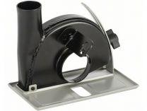 Odsávací kryt - vodící saně s odsávacím hrdlem na řezání pro úhlovou brusky Bosch 115mm a 125mm